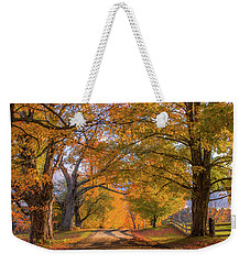 Classic Vermont Fall Weekender Tote Bag
