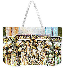 Weekender Tote Bag featuring the digital art Classic by Wendy J St Christopher