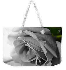 Classic White Rose Weekender Tote Bag