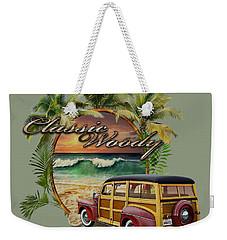 Classic Woody Weekender Tote Bag