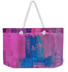 Weekender Tote Bag featuring the digital art Classico - S0307d by Variance Collections