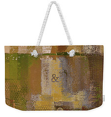 Weekender Tote Bag featuring the digital art Classico - S0309b by Variance Collections