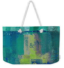 Weekender Tote Bag featuring the digital art Classico - S03c04 by Variance Collections
