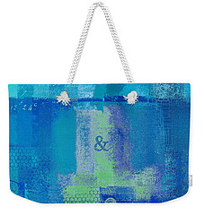 Weekender Tote Bag featuring the digital art Classico - S03c06 by Variance Collections