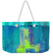 Weekender Tote Bag featuring the digital art Classico - S03c26 by Variance Collections