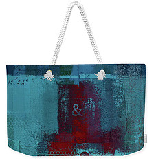 Weekender Tote Bag featuring the digital art Classico - S03b by Variance Collections