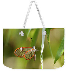 Classy Clearwing Weekender Tote Bag