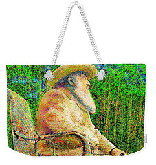 Claude Monet In His Garden Weekender Tote Bag