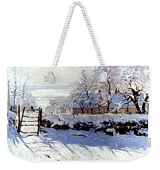 Claude Monet: The Magpie Weekender Tote Bag