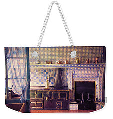 Weekender Tote Bag featuring the photograph Claude Monet's Kitchen by John Rivera
