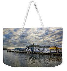 Claudio's Dock Weekender Tote Bag