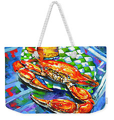 Claw Daddy Weekender Tote Bag