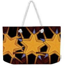Clawed Stars  Weekender Tote Bag by Ron Bissett
