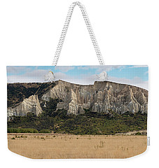 Weekender Tote Bag featuring the photograph Clay Cliffs Omarama by Gary Eason