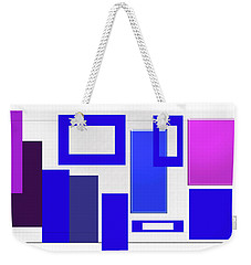 Weekender Tote Bag featuring the photograph Clean Lines by Tina M Wenger