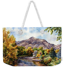 Clear Creek Weekender Tote Bag by Anne Gifford