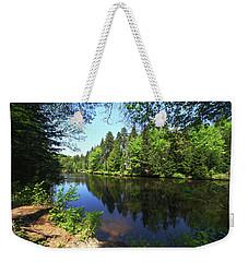 Clear Lake Weekender Tote Bag by Robert Och