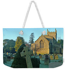 Clear Light In The Graveyard Weekender Tote Bag