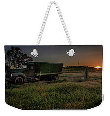 Clear Morning Sunrise Weekender Tote Bag