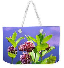 Clear Simple Beauty Weekender Tote Bag