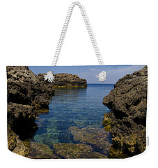 Clear Water Of Mallorca Weekender Tote Bag