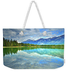 Weekender Tote Bag featuring the photograph Clear Waters At Lake Annette by Tara Turner