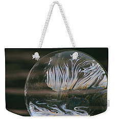 Weekender Tote Bag featuring the photograph Clearing My Mind by Cathie Douglas