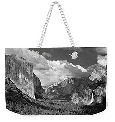 Clearing Skies Yosemite Valley Weekender Tote Bag