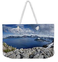 Clearing Storm At Crater Lake Weekender Tote Bag