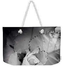 Clearly Bloomed Weekender Tote Bag