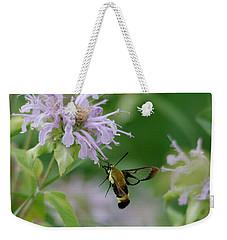 Clearwing Moth Weekender Tote Bag