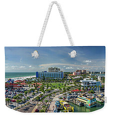 Weekender Tote Bag featuring the photograph Clearwater Beach Florida by Steven Sparks