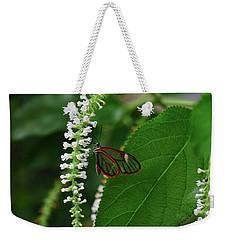 Clearwing Butterfly Weekender Tote Bag