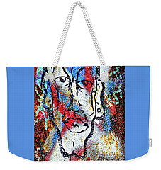 Weekender Tote Bag featuring the photograph Cleft Chin by Ethna Gillespie