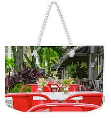 Clematis By Day Weekender Tote Bag by Josy Cue