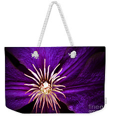 Clematis Crown Weekender Tote Bag
