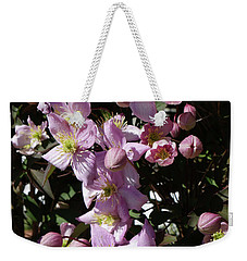 Clematis Montana  In Full Bloom Weekender Tote Bag