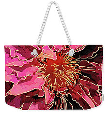 Clematis Up Close And Personal Weekender Tote Bag