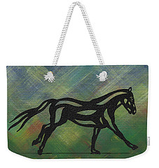 Clementine - Abstract Horse Weekender Tote Bag