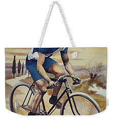 Cleveland Lesna Cleveland Gagnant Bordeaux Paris 1901 Vintage Cycle Poster Weekender Tote Bag by R Muirhead Art
