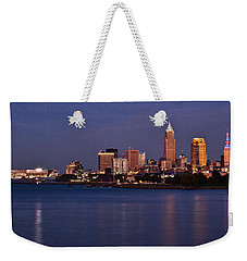 Cleveland Ohio Weekender Tote Bag by Dale Kincaid