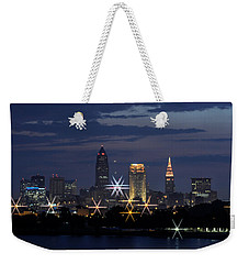 Cleveland Starbursts Weekender Tote Bag