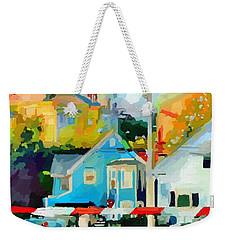 Cleveland Street Gloucester, Ma Weekender Tote Bag