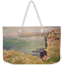 Cliff At Varengeville Weekender Tote Bag