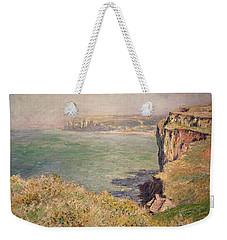 Cliff At Varengeville Weekender Tote Bag