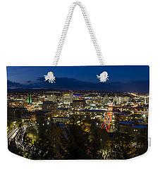 Cliff Drive Rush Hour - Spokane  Weekender Tote Bag