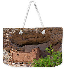 Weekender Tote Bag featuring the photograph Cliff Dwellings by Arthur Dodd