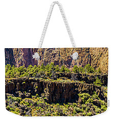 Weekender Tote Bag featuring the photograph Cliff Edge by Jonny D