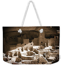 Weekender Tote Bag featuring the photograph Cliff Palace Mesa Verde by Kurt Van Wagner