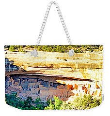 Cliff Palace Study 1 Weekender Tote Bag